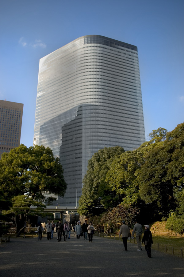 dentsu tower